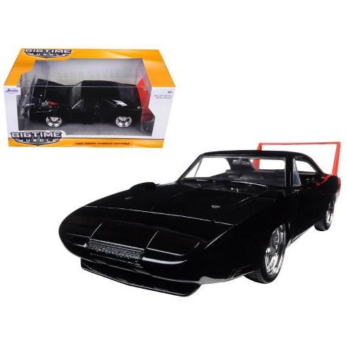1969 Dodge Charger Daytona Black 1/24 Diecast Model Car by Jada - image 1 of 1