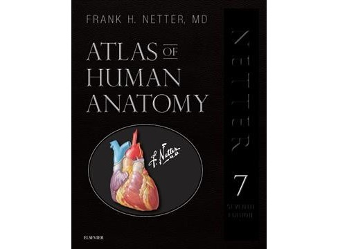 Atlas of Human Anatomy : Including Full Downloadable Image Bank -  by M.D. Frank H. Netter (Hardcover) - image 1 of 1