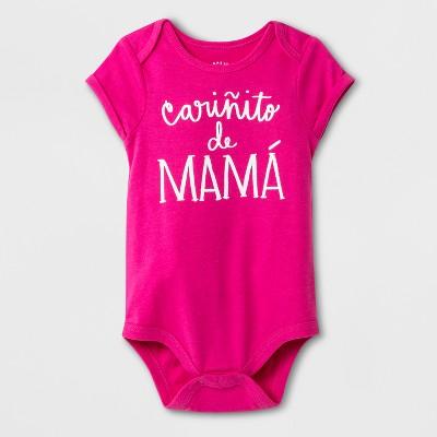 Baby Girls' Bodysuit - Cat & Jack™ Pink Newborn