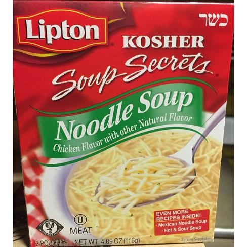 Lipton Kosher Noodle Soup 4.09 oz - image 1 of 2