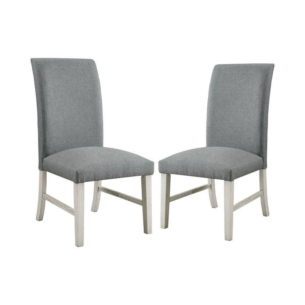 Set of 2 Premo Transitional Dining Chair White - ioHOMES