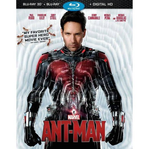 Marvel's Ant-Man [3D] [Includes Digital Copy] [Blu-ray] [2 Discs] - image 1 of 1