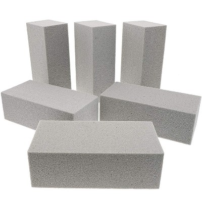7 inches Bright Creations 4 Pack Flower Foam Block Wet Floral Foam Base