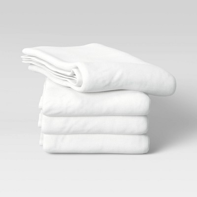 4pk Cotton Kitchen Towels White - Made By Design™