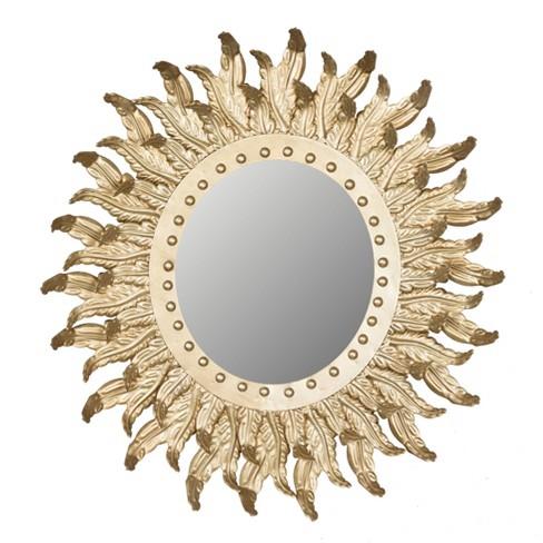 Hemmingway's Sun Burst Mirror Gold - A&B Home - image 1 of 1
