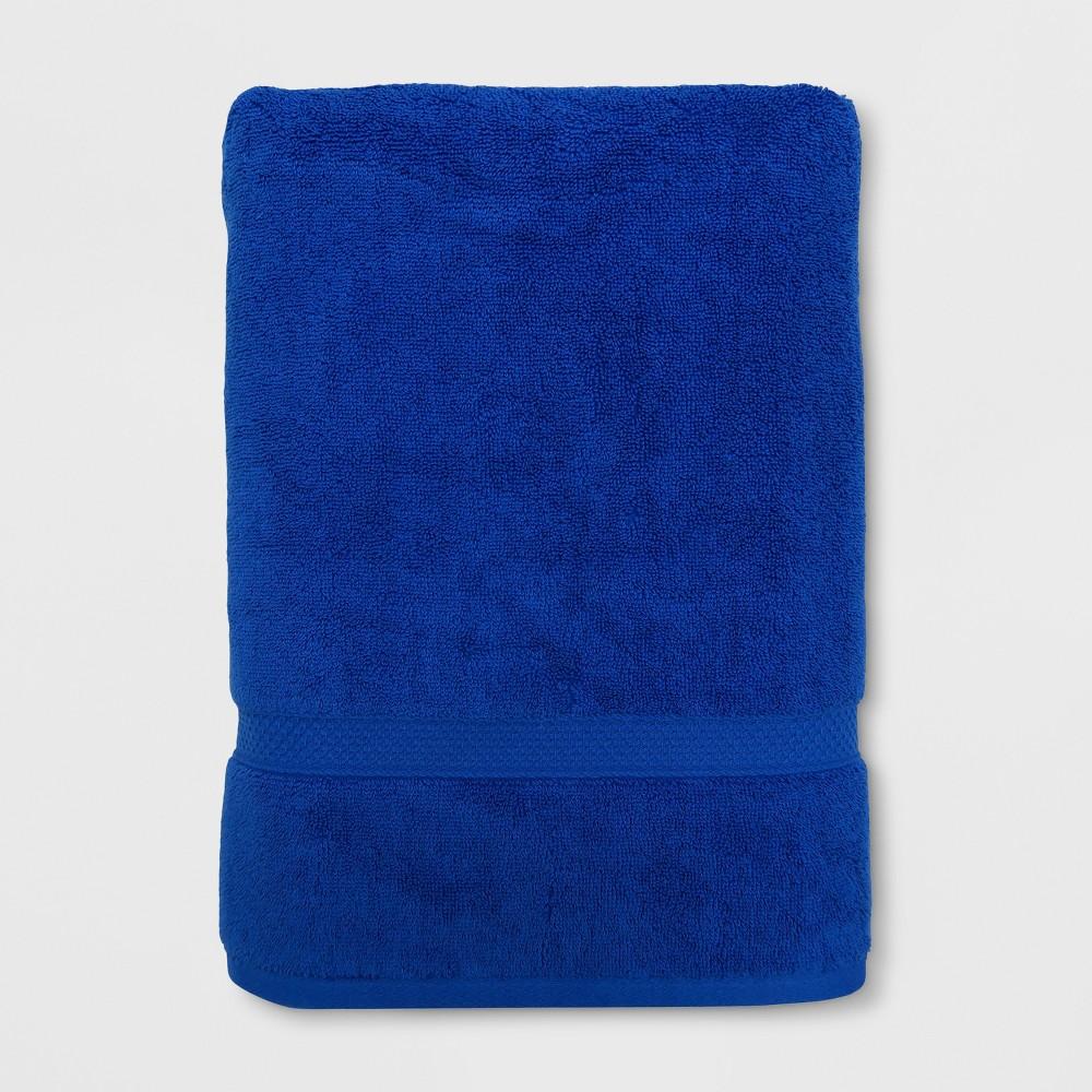Soft Solid Bath Sheet Bright Blue - Opalhouse
