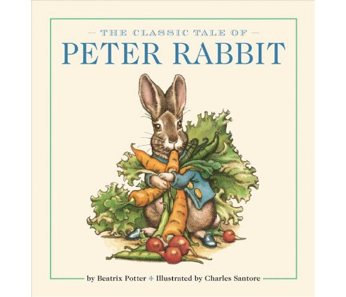 Classic Tale of Peter Rabbit -  (Peter Rabbit) by Beatrix Potter (Hardcover) - image 1 of 1