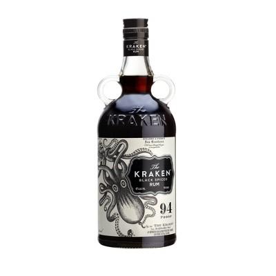 The Kraken Black Spiced Rum - 750ml Bottle