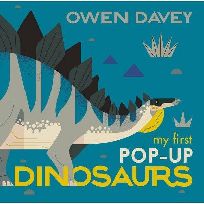 My First Pop-Up Dinosaurs - by Owen Davey (Hardcover)