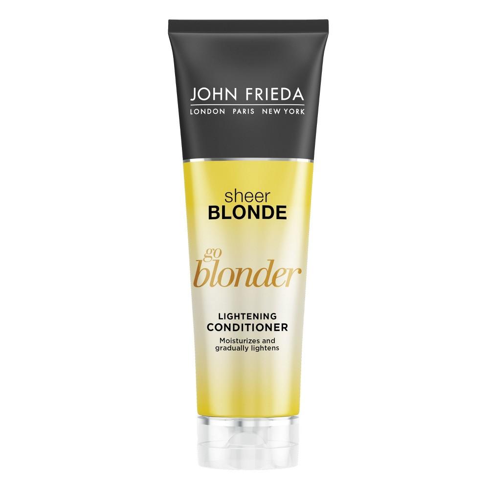 Image of John Frieda Sheer Blonde Go Blonder Lightening Conditioner - 8.3oz
