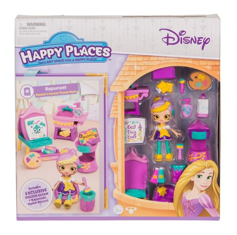 Happy Places™ Disney Rapunzel Painters Corner Theme Pack - image 1 of 5