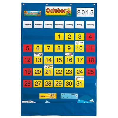 PlayMonster Complete Calendar Pocket Chart