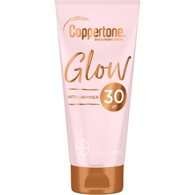 Coppertone Glow with Shimmer Sunscreen Lotion - 5 fl oz