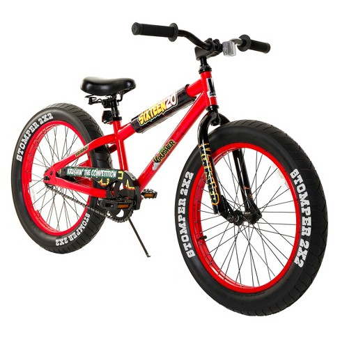 "Krusher 20"" Kids' Fat Tire Mountain Bike - Red - image 1 of 4"