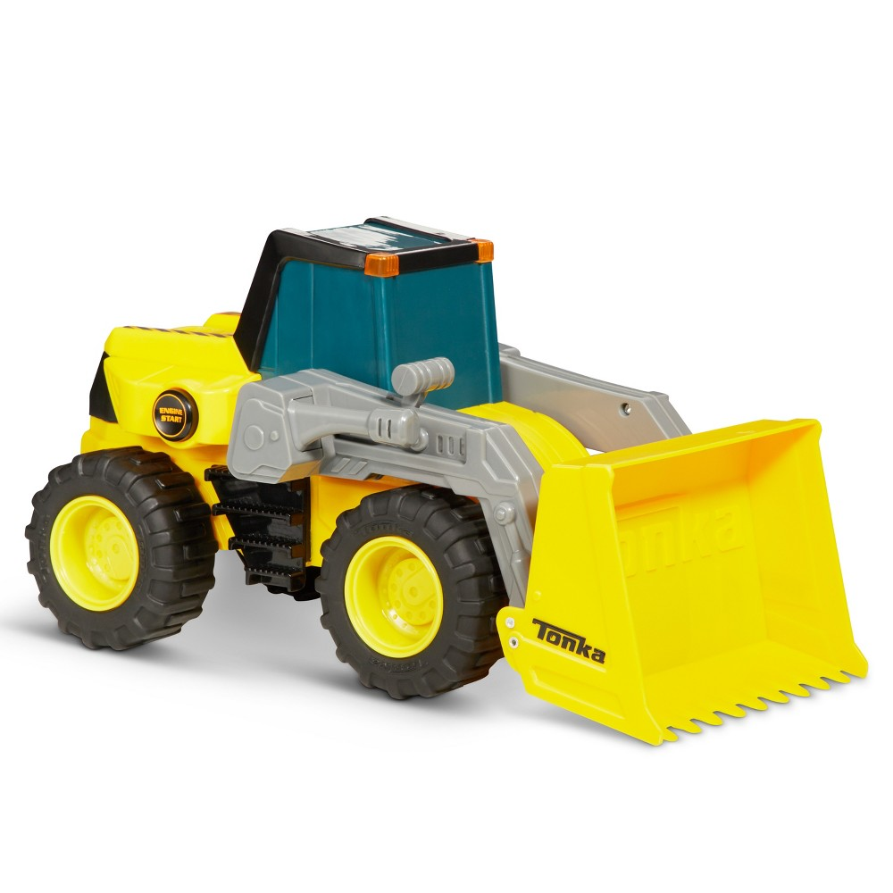Tonka Power Movers Lights & Sounds Front Loader