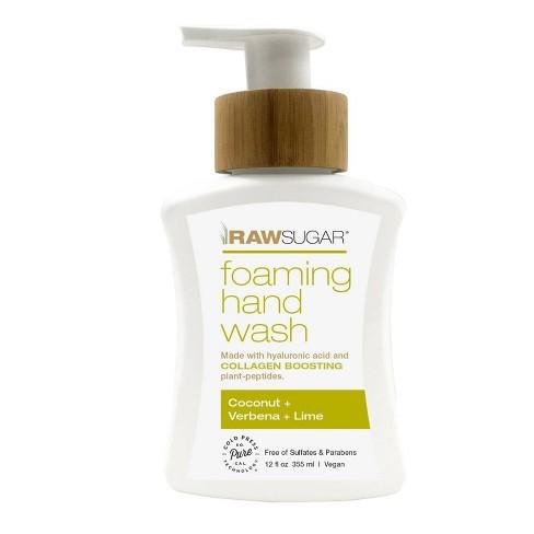 Raw Sugar Foaming Hand Wash Coconut + Verbena + Lime - 12 fl oz - image 1 of 1