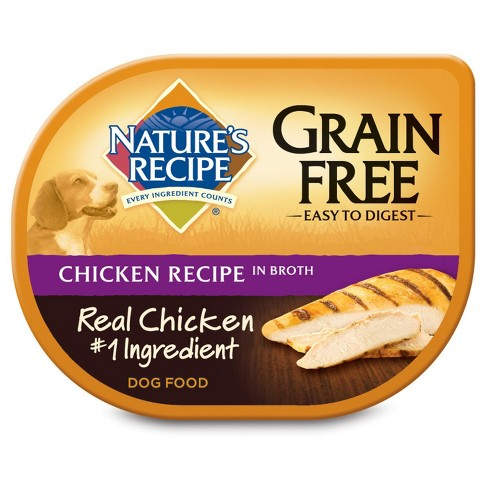 Nature's Recipe Grain Free (Chicken in Broth) - Wet Dog Food - 2.75oz - image 1 of 1