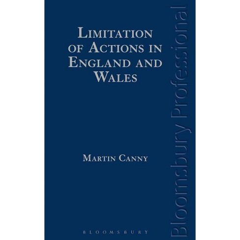 Limitation of Actions in England and Wales - by  Martin Canny (Hardcover) - image 1 of 1