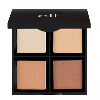 e.l.f. Contour Palette Pressed Powder - Light/Medium - 0.56oz