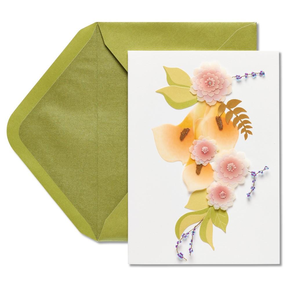 Papyrus Calla Lily Birthday Card, Multi-Colored