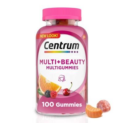 Centrum Multi Gummies for Health & Beauty - 100ct