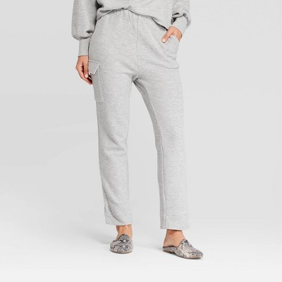 womens-mid-rise-straight-cozy-knit-cargo-pants---who-what-wear by who-what-wear