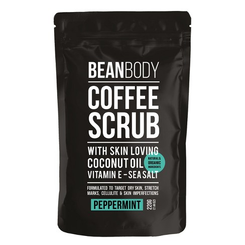 Bean Body Coffee Scrub Peppermint - 220g - image 1 of 4