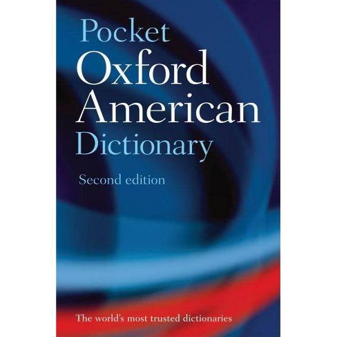 Pocket Oxford American Dictionary - 2 Edition (Paperback) - image 1 of 1