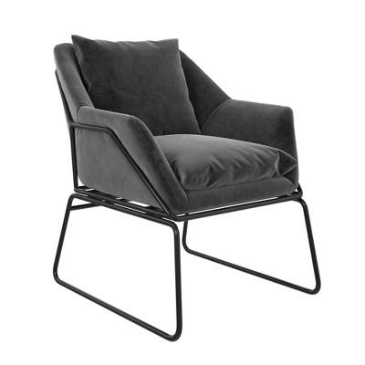 Alisa Velvet Accent Chair - Room & Joy