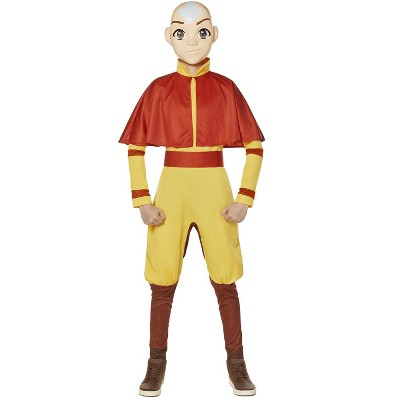 Avatar The Last Airbender Aang Child Costume
