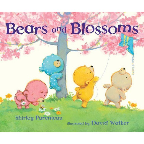 Bears and Blossoms - (Bears on Chairs) by  Shirley Parenteau (Hardcover) - image 1 of 1