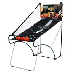 Lancaster Sports EZ-Fold 2 Player Indoor Arcade Dual Basketball Hoop Shot Game