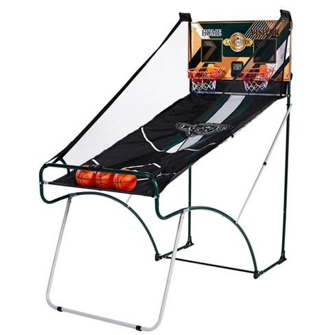 Lancaster Sports EZ-Fold 2 Player Indoor Arcade Dual Basketball Hoop Shot Game - image 1 of 4