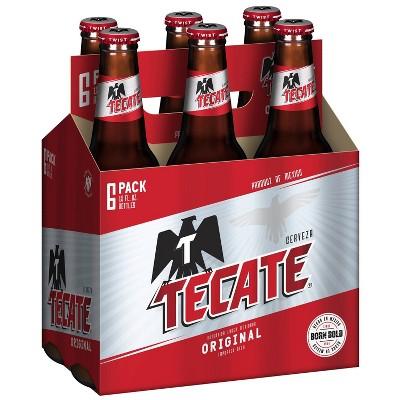 Tecate Beer - 6pk/12 fl oz Bottles