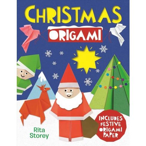 Christmas Origami Includes Rainbow Origami Paper Paperback Rita