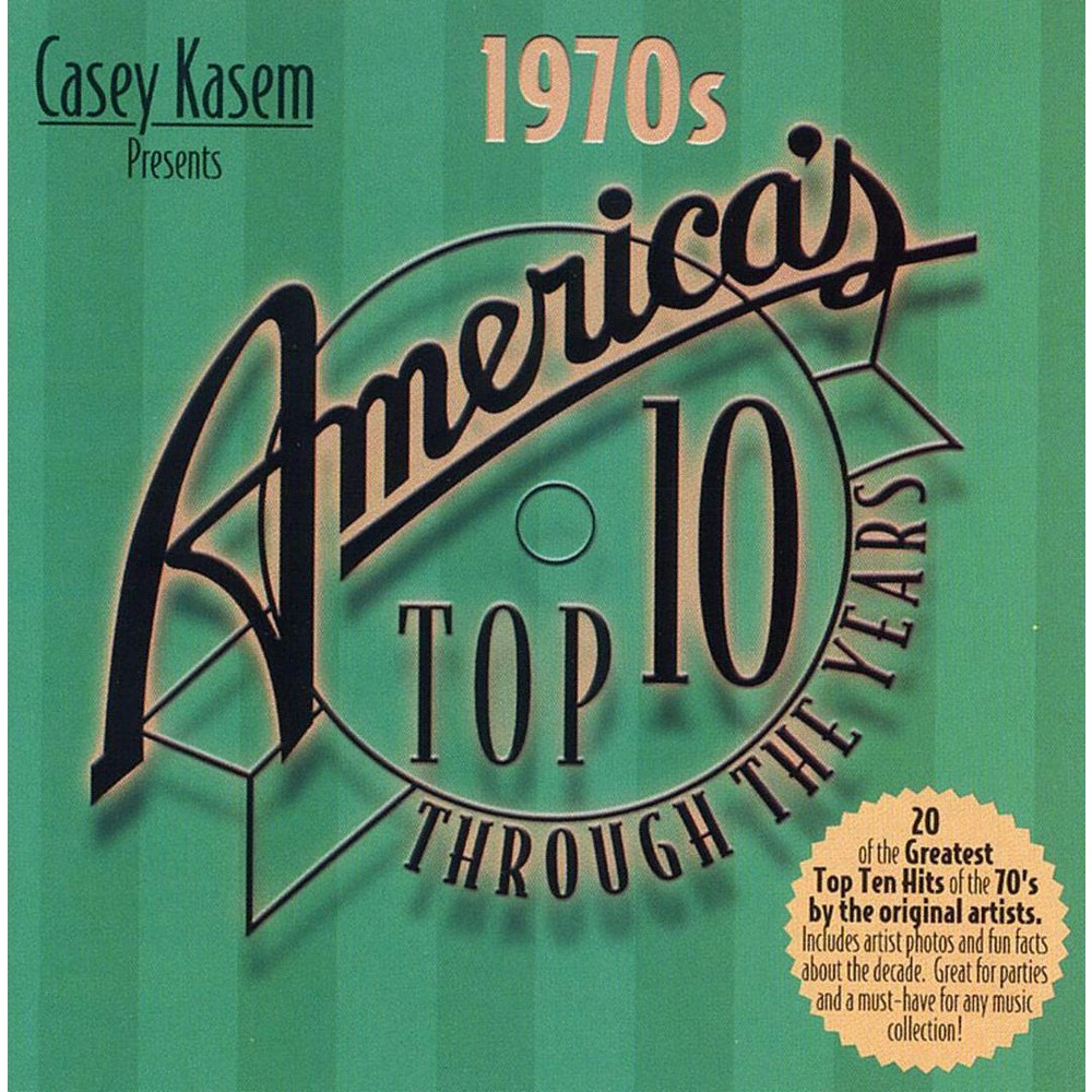Various - America's Top 10:1970s (CD)