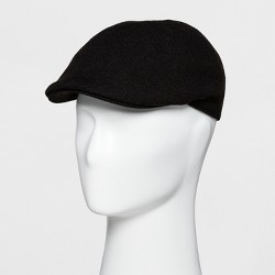 Men's 6 Panel Ivy Driving Cap - Goodfellow & Co™ Black One Size