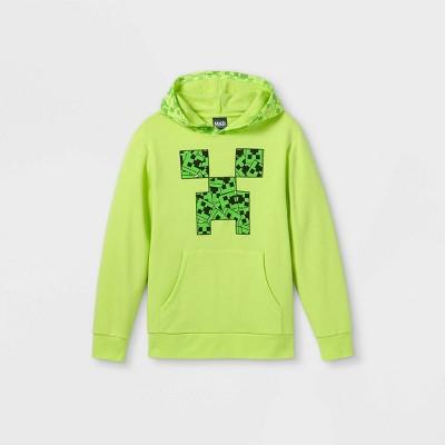 Boys' Minecraft Hooded Sweatshirt - Green