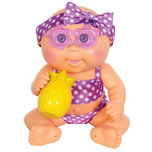 Cabbage Patch Kids Basic Newborn Drink N' Wet Swim Time - Blue Eyes - image 1 of 3