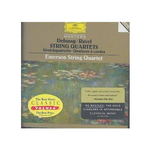 Debussy - Debussy/Ravel:Qts (CD) - image 1 of 1