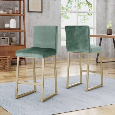Set Of 2 Toucanet Modern Counter Height Barstools - Christopher Knight Home : Target