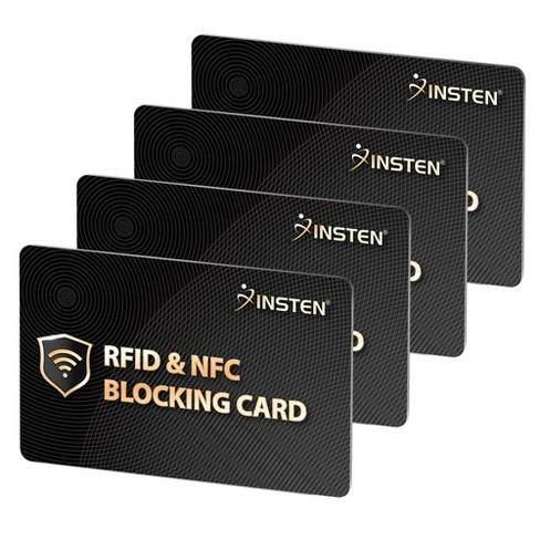 Insten 4x RFID & NFC Blocking Card - image 1 of 3