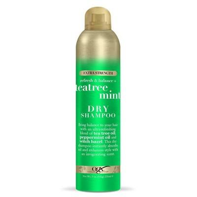 Dry Shampoo: OGX Teatree Mint