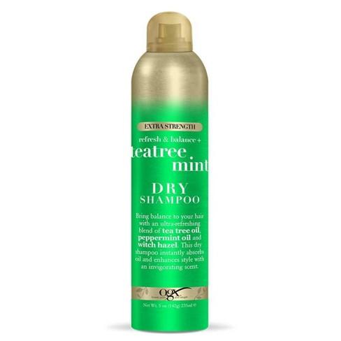 OGX Teatree Mint Extra Strength Dry Shampoo - 5oz - image 1 of 2