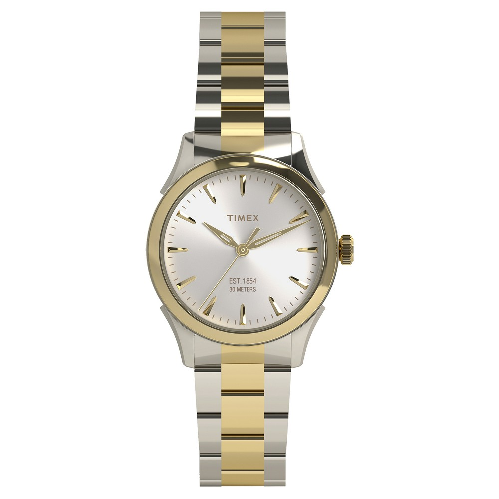 Women's Timex Watch - Two Tone TW2P81900JT, Gold