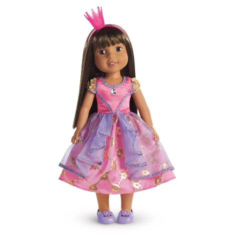 American Girl Wellie Wishers Daisy Princess Costume - image 1 of 9