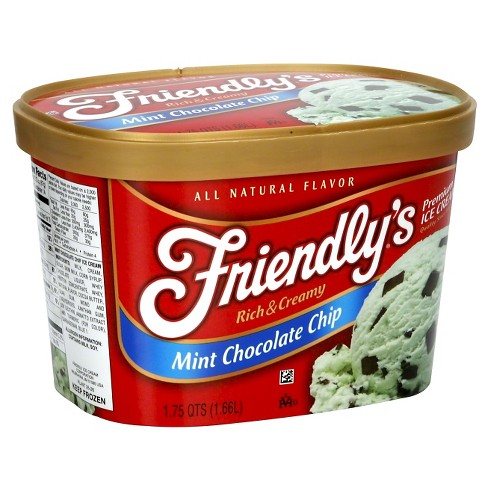 Friendly's Mint Chip Ice Cream 48 oz - image 1 of 1