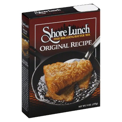 Shore Lunch Original Recipe Fish Breading Batter Mix - 9oz