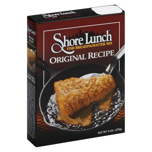 Shore Lunch Original Recipe Fish Breading Batter Mix - 9oz - image 1 of 1