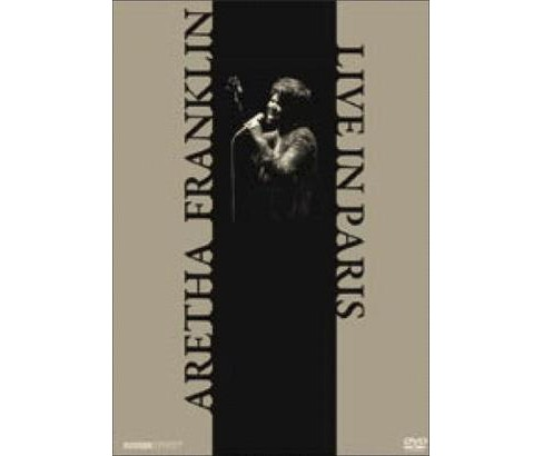 Aretha franklin:Live in paris (DVD) - image 1 of 1
